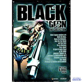 BLACK LAGOON THE COLLECTION DVD SVENSK UTGÅVA