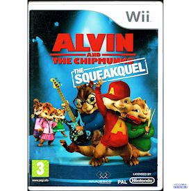 ALVIN AND THE CHIPMUNKS THE SQUEAKQUEL WII