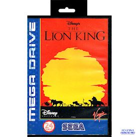 THE LION KING MEGADRIVE