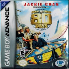 JACKIE CHAN ROUND THE WORLD IN 80 DAYS GBA