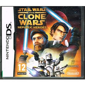 STAR WARS THE CLONE WARS REPUBLIC HEROES DS