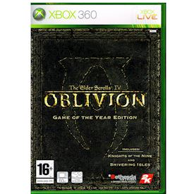 THE ELDER SCROLLS IV OBLIVION GAME OF THE YEAR EDITION XBOX 360