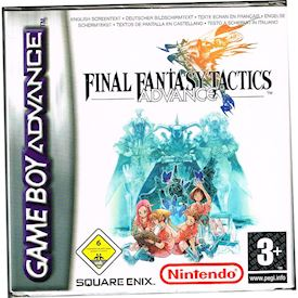 FINAL FANTASY TACTICS ADVANCE GBA