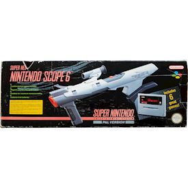 SUPER SCOPE 6 SNES SCN