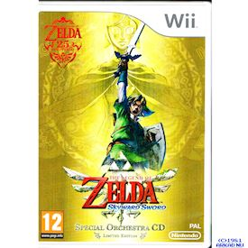 THE LEGEND OF ZELDA SKYWARD SWORD SPECIAL ORCHESTRA CD LIMITED EDITION WII