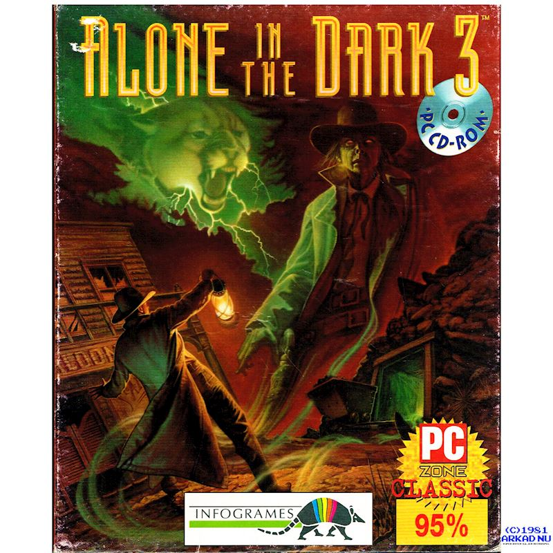 Alone In The Dark 3 Pc Bigbox Have You Played A Classic Today