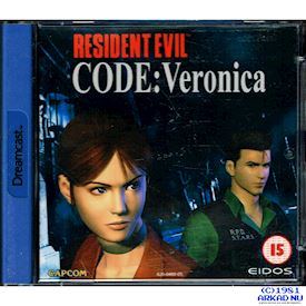 RESIDENT EVIL CODE VERONICA DREAMCAST