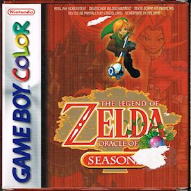 THE LEGEND OF ZELDA ORACLE OF SEASONS GAMEBOY COLOR