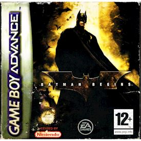 BATMAN BEGINS GBA