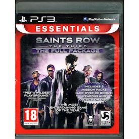 SAINTS ROW THE THIRD THE FULL PACKAGE PS3