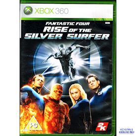 FANTASTIC FOUR RISE OF THE SILVERSURFER XBOX 360