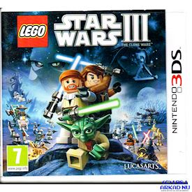 LEGO STAR WARS III THE CLONE WARS 3DS