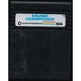 MUSIC COMPOSER C64 CARTRIDGE