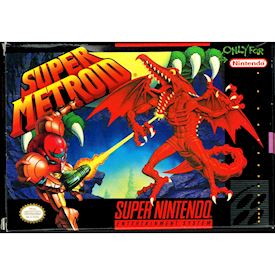 SUPER METROID SNES NTSC