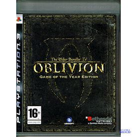 THE ELDER SCROLLS IV OBLIVION GAME OF THE YEAR EDITION PS3