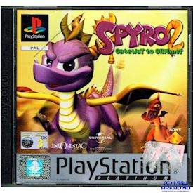 SPYRO 2 GATEWAY TO GLIMMER PS1