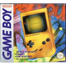 GAME BOY BASIC SET GUL SCN