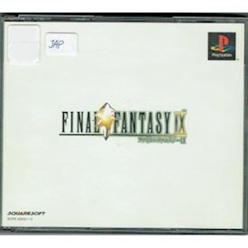 FINAL FANTASY IX PS1 JAPANSK