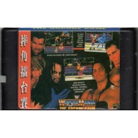WRESTLE MANIA THE ARCADE GAME MEGADRIVE BOOTLEG