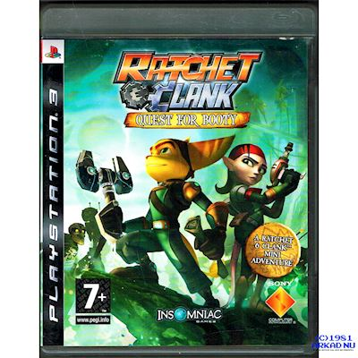 RATCHET & CLANK QUEST FOR BOOTY PS3