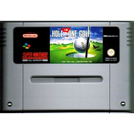 HALS HOLE IN ONE GOLF SNES SCN