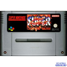 SUPER STREET FIGHTER II SNES