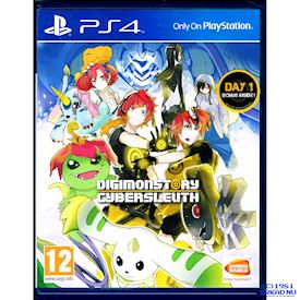 DIGIMON STORY CYBER SLEUTH DAY ONE EDITION  PS4