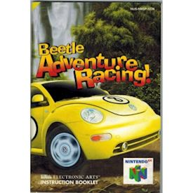 BEETLE ADVENTURE RACING MANUAL N64 SCN