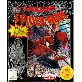 THE AMAZING SPIDER-MAN AMIGA