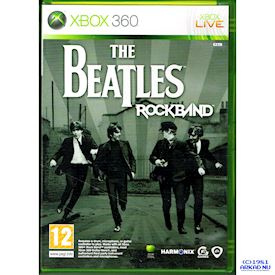 THE BEATLES ROCKBAND XBOX 360