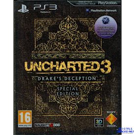 UNCHARTED 3 DRAKES DECEPTION SPECIAL EDITION PS3