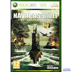 NAVAL ASSAULT THE KILLING TIDE XBOX 360