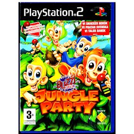 BUZZ JUNIOR JUNGLE PARTY PS2
