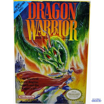 DRAGON WARRIOR NES REV-A USA