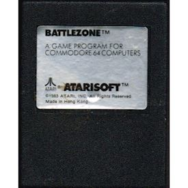 BATTLEZONE C64 CARTRIDGE