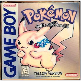 POKEMON YELLOW VERSION GAMEBOY BOOTLEG