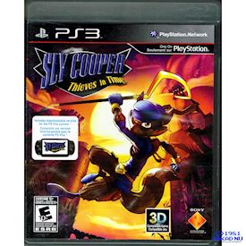 SLY COOPER THIEVES IN TIME PS3 NTSC USA