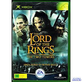 THE LORD OF THE RINGS THE TWO TOWERS XBOX