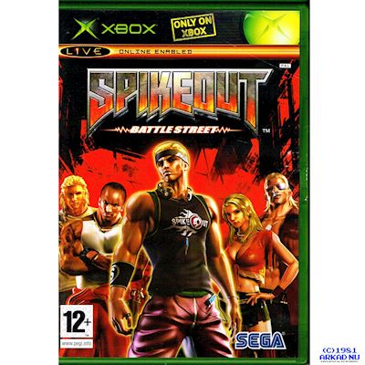 SPIKEOUT BATTLE STREET XBOX
