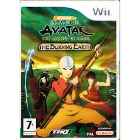 AVATAR THE LEGEND OF AANG THE BURNING EARTH WII