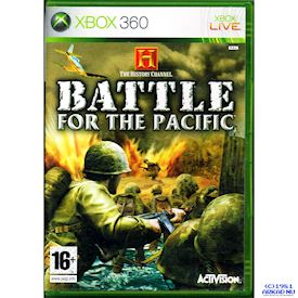 HISTORY CHANNEL BATTLE FOR THE PACIFIC XBOX 360