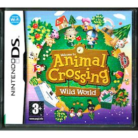 ANIMAL CROSSING WILD WORLD DS