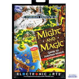 MIGHT AND MAGIC GATES TO ANOTHER WORLD MEGADRIVE