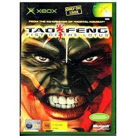 TAO FENG FIST OF THE LOTUS XBOX