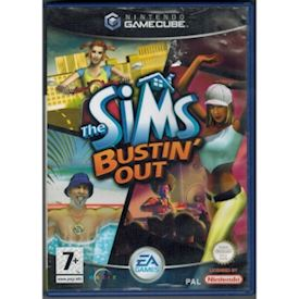 THE SIMS BUSTIN OUT GAMECUBE