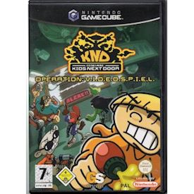 KND KIDS NEXT DOOR OPERATION VIDEOSPIEL GAMECUBE