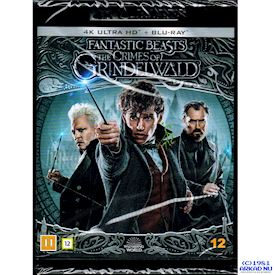 FANTASTIC BEASTS THE CRIMES OF GRINDELWALD 4K ULTRA HD + BLU-RAY