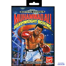 MUHAMMAD ALI HEAVYWEIGHT BOXING MEGADRIVE