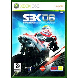 SBK 08 SUPERBIKE WORLD CHAMPIONSHIP XBOX 360