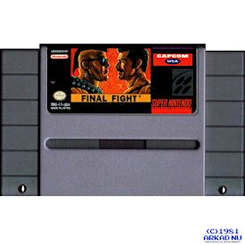 FINAL FIGHT SNES NTSC USA